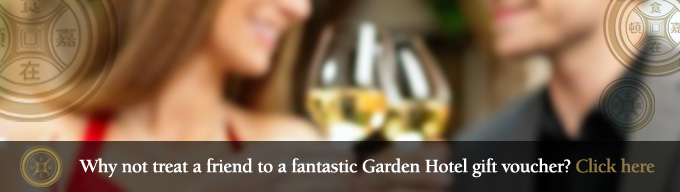 Gift vouchers for the Garden Hotel