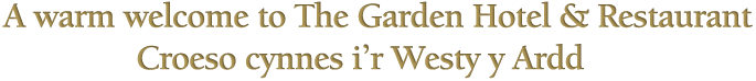Welcome to the Garden Hotel & Restaurant
